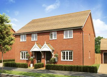 """Thumbnail 3 bedroom end terrace house for sale in """"Barwick"""" at Broughton Crossing, Broughton, Aylesbury"""