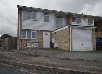 Thumbnail 3 bed semi-detached house to rent in Hawbeck Road, Rainham, Gillingham