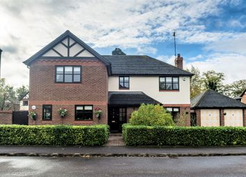 Thumbnail 4 bed detached house for sale in Purbeck Close, Woodcote Park, Wisbech, Cambridgeshire