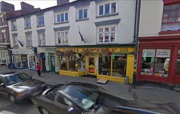 Thumbnail Retail premises for sale in Powys Carpets, 17 Berriew Street, Welshpool