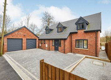 Thumbnail 4 bed detached house for sale in Newton Road, Burton-On-Trent