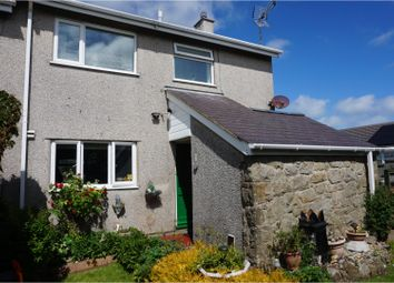 Thumbnail 3 bed semi-detached house for sale in Penysarn, Amlwch
