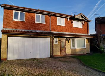 Thumbnail 5 bed detached house for sale in Metheringham Close, Lincoln