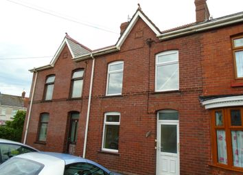 Thumbnail 3 bed terraced house to rent in Silver Terrace, Burry Port, Llanelli, Carmarthenshire