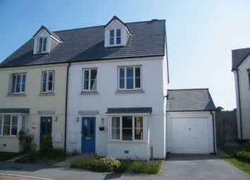 Thumbnail 3 bed semi-detached house to rent in Swans Reach, Swanpool, Falmouth
