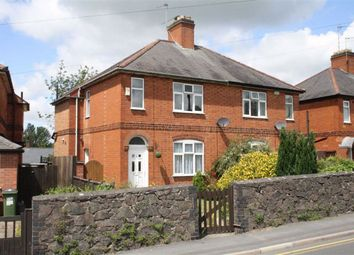 Thumbnail 2 bed semi-detached house for sale in Station Road, Glenfield, Leicester