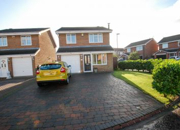 Thumbnail 3 bed detached house for sale in Prensgarth Way, South Shields