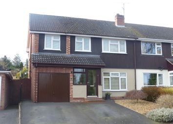 Thumbnail 4 bed semi-detached house for sale in Kings Acre Road, Hereford