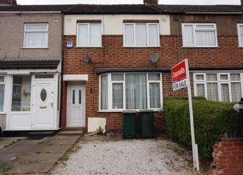 Thumbnail 3 bed terraced house for sale in Glaisdale Avenue, Holbrooks, Coventry