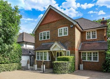 Thumbnail 4 bed detached house for sale in Wellington Avenue, Virginia Water, Surrey