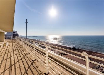 Thumbnail 3 bed flat for sale in Embassy Court, Kings Road, Brighton, East Sussex