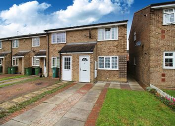 Thumbnail 2 bed end terrace house for sale in Fellcott Way, Horsham