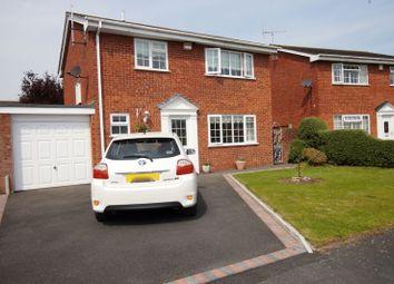 Thumbnail Detached house for sale in Grosvenor Crescent, Rossett, Wrexham