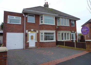 Thumbnail 4 bed semi-detached house for sale in Springfield Drive, Thornton-Cleveleys