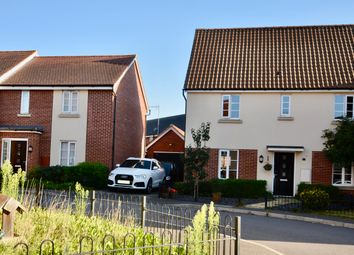 Thumbnail 3 bed detached house for sale in Tiller Way, Pineham Lock, Northampton