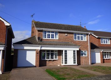 Thumbnail 4 bed detached house for sale in Saxon Way, Caistor, Market Rasen