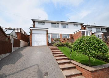 Thumbnail 3 bed semi-detached house for sale in Dalehouse Road, Cheddleton, Leek