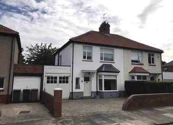 Thumbnail 3 bed semi-detached house for sale in Roker Avenue, Whitley Bay, Tyne And Wear