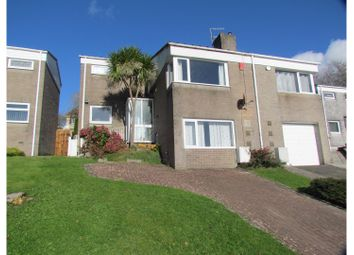 Thumbnail 3 bed semi-detached house for sale in Trevannion Close, Plymouth