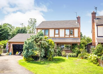 4 bed detached house for sale in School Lane, St. Martins, Oswestry, Shropshire SY11
