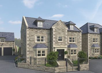 Thumbnail 5 bed detached house for sale in Woodthorpe Hall Gardens, Woodthorpe Lane, Sandal, Wakefield