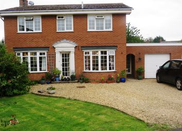 Thumbnail 4 bed detached house for sale in Walnut Close, Stathern, Melton Mowbray