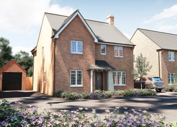"Thumbnail 4 bedroom detached house for sale in ""The Berrington"" at Roman Road, Bobblestock, Hereford"