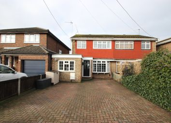 Thumbnail 3 bed semi-detached house for sale in Central Avenue, Canvey Island, Essex