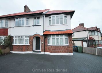 Thumbnail 5 bed semi-detached house to rent in Groveland Way, New Malden