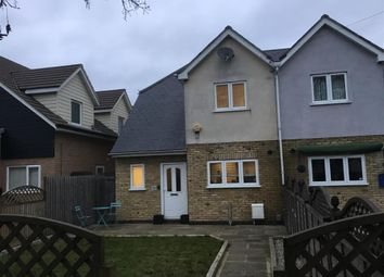 Thumbnail 3 bed semi-detached house for sale in Mynchens, Basildon, Essex