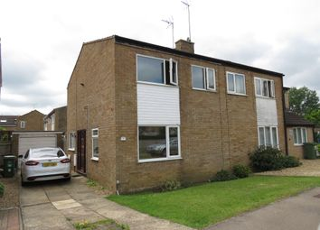 Thumbnail 3 bed semi-detached house for sale in Dart Close, Newport Pagnell