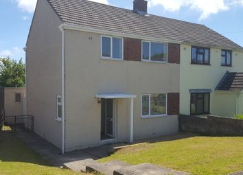 Thumbnail 3 bed semi-detached house to rent in Bryngolau, Bridgend