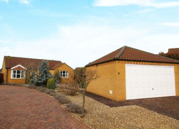 Thumbnail 3 bed detached bungalow for sale in Heath Road, Navenby, Lincoln
