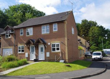Thumbnail 2 bed semi-detached house for sale in Dunsford Close, Swindon