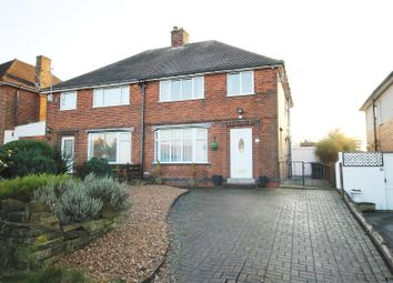 Thumbnail 3 bed semi-detached house for sale in Norwood Avenue, Hasland, Chesterfield