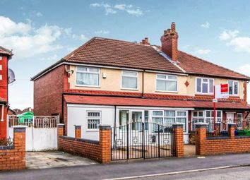 Thumbnail 4 bed semi-detached house for sale in Mauldeth Road, Manchester, Greater Manchester, Uk