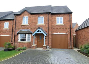 Thumbnail 4 bed detached house for sale in Wistanes Green, Wessington