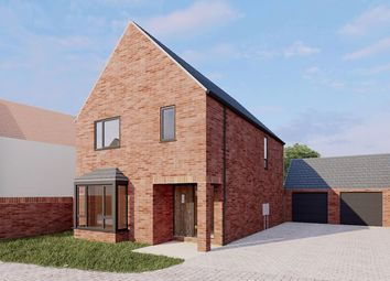 Thumbnail 3 bed detached house for sale in Plot 1, Moorcroft Farm, Crowle