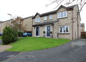 Thumbnail 3 bed semi-detached house for sale in Hillside Close, Loveclough, Rossendale