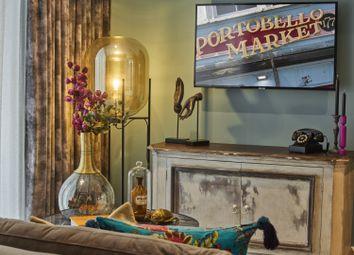 Thumbnail 1 bed flat for sale in Bond Mansions, Portobello Square, London