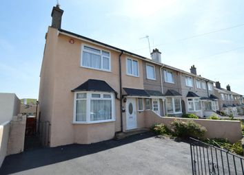 Thumbnail 3 bedroom end terrace house for sale in Furneaux Road, Plymouth, Devon