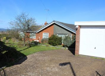 Thumbnail 3 bed detached bungalow for sale in The Marles, Exmouth
