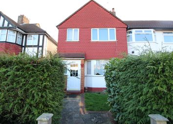 Thumbnail 3 bed end terrace house to rent in Caverleigh Way, Worcester Park
