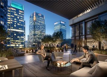 Thumbnail 3 bed flat for sale in Park Drive, Canary Wharf, London