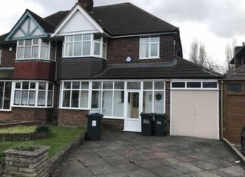 Thumbnail 3 bedroom semi-detached house to rent in Bromford Road, Hodge Hill, Birmingham