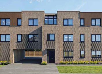 Thumbnail 2 bed flat for sale in Newport Road, New Bradwell, Milton Keynes