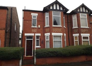 Thumbnail 3 bedroom semi-detached house for sale in Railway Road, Stretford, Manchester, Uk