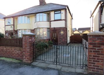 Thumbnail 3 bed semi-detached house for sale in Hillcrest Drive, Greasby, Wirral