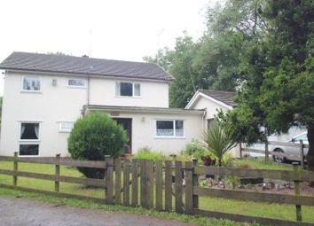 Thumbnail 4 bed detached house for sale in Llangattock, Crickhowell