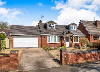 Thumbnail 4 bed detached house for sale in Washbrook Lane, Norton Canes, Cannock